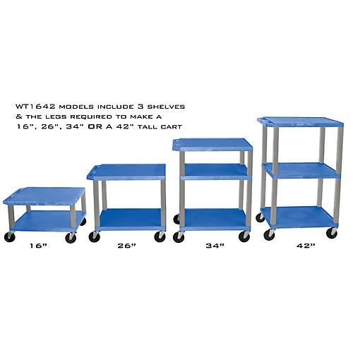 H. Wilson Adjustable-Height Open Shelf Tuffy Cart-thumbnail