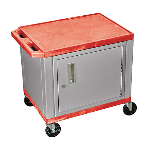 H. Wilson Adjustable-Height Tuffy Cart with Lockable Cabinet-thumbnail