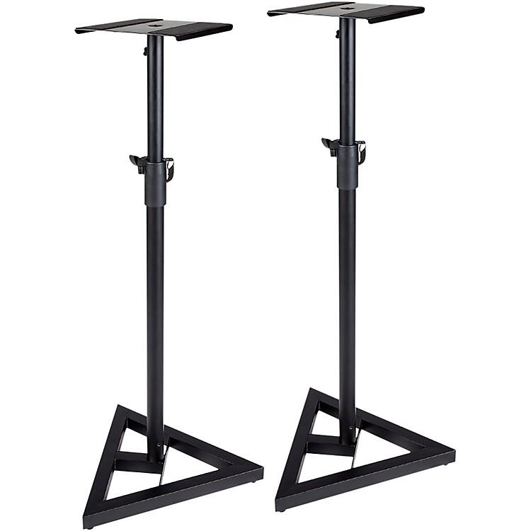 ProLineAdjustable Studio Monitor Stand - PairBlack