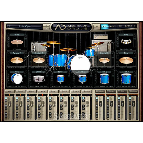 XLN Audio Adpak INDIE Addictive Drums Expansion Pack