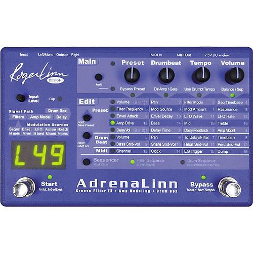 Roger Linn Design AdrenaLinn Guitar Groove Box