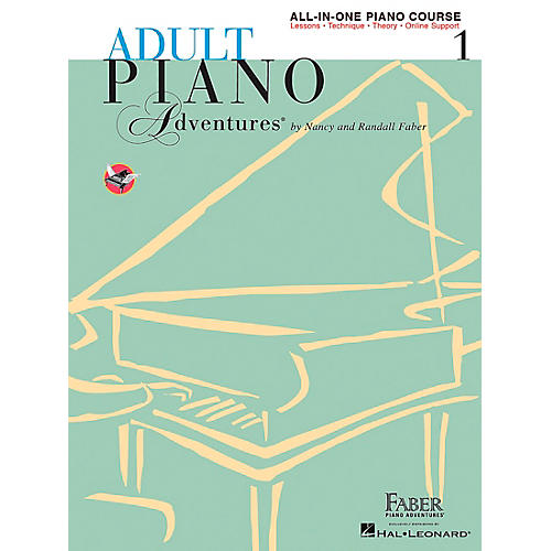 Faber Piano Adventures Adult Piano Adventures All-In-One Lesson Book 1-A Comprehensive Piano Course - Faber Piano