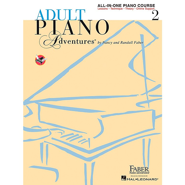 Faber Music Adult Piano Adventures All-In-One Lesson Book 2 - Faber Piano