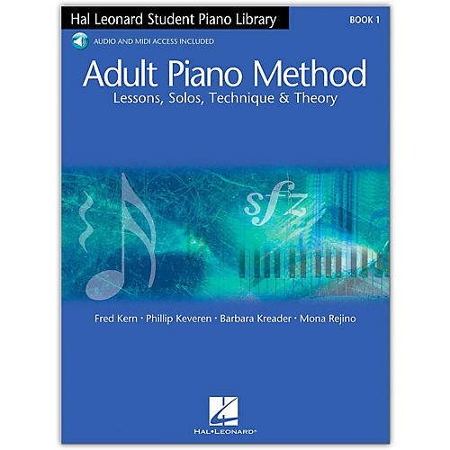 Hal Leonard Adult Piano Method Book 1 with CD