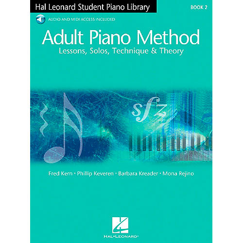 Hal Leonard Adult Piano Method Book 2 Book/2CDs Hal Leonard Student Piano Library