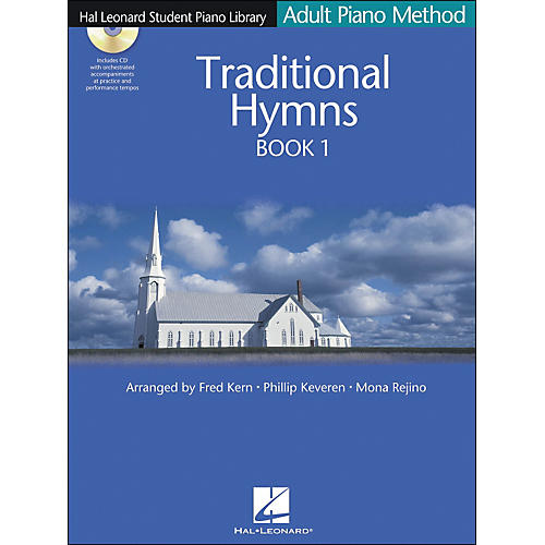 Hal Leonard Adult Piano Method Traditional Hymns Book 1 Book/CD Hal Leonard Student Piano Library-thumbnail