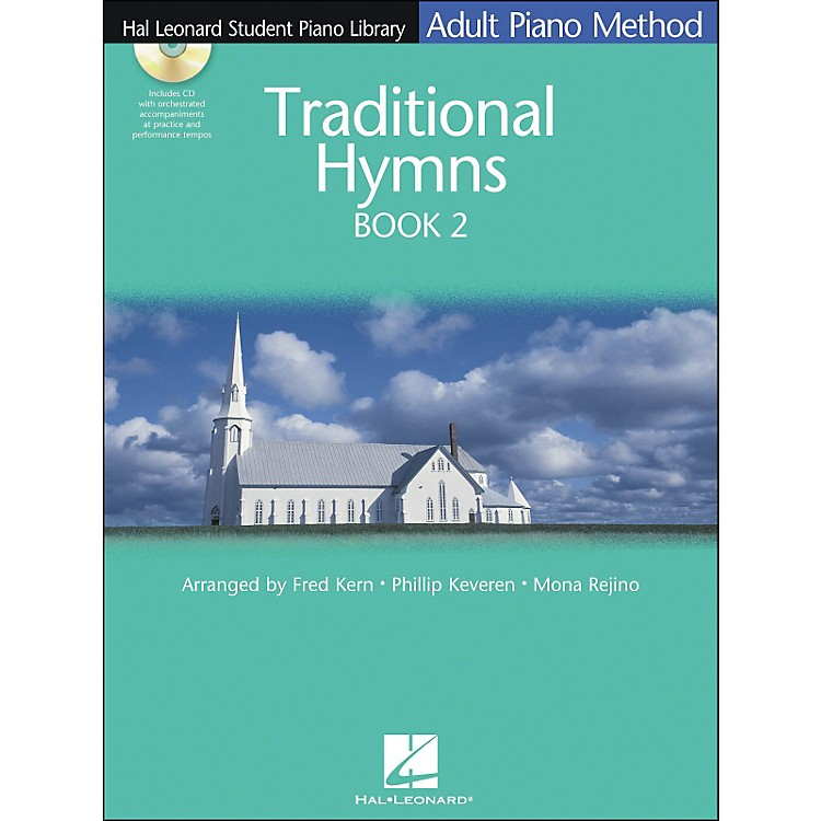 Hal Leonard Adult Piano Method Traditional Hymns Book 2 Book/CD Hal Leonard Student Piano Library