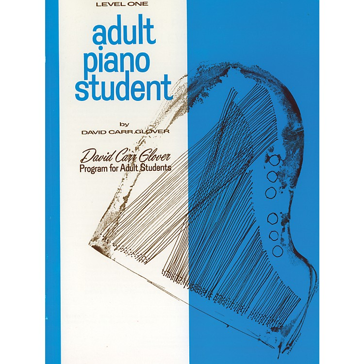 AlfredAdult Piano Student Level 1
