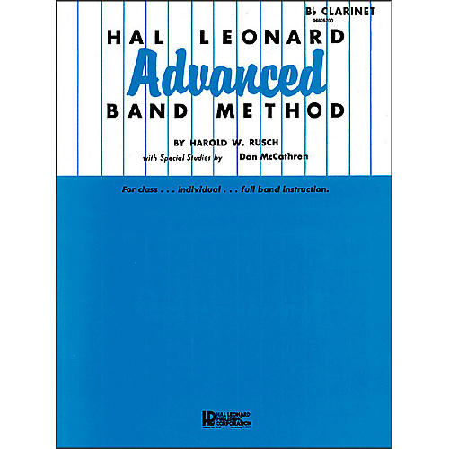 Hal Leonard Advanced Band Method - B-Flat Clarinet