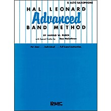 Hal Leonard Advanced Band Method -E Flat Alto Saxophone