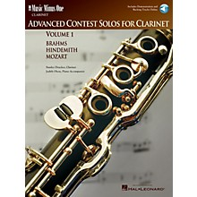 Music Minus One Advanced Clarinet Solos - Volume I Music Minus One Series BK/CD Performed by Stanley Drucker