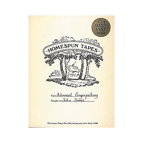 Homespun Advanced Fingerpicking Level 4 - Includes Tab (Book and 6 Cassettes)