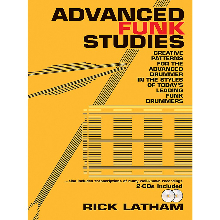 Alfred Advanced Funk Studies (Book/2 CDs)