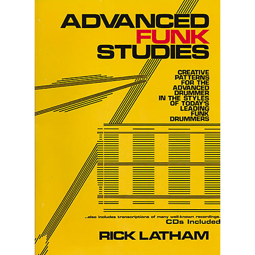 Carl Fischer Advanced Funk Studies for Drums (Book/CD)-thumbnail