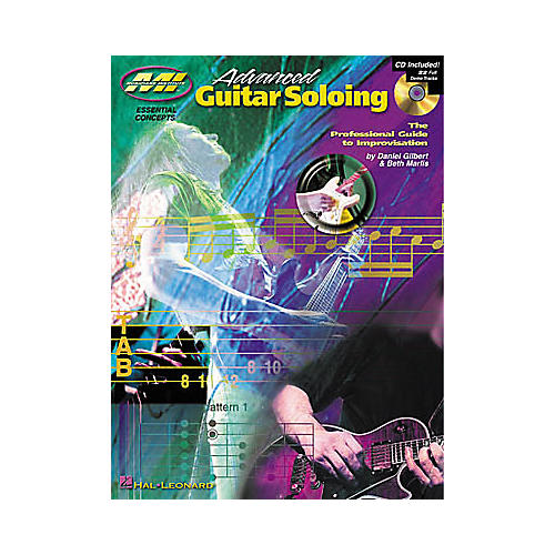 Musicians Institute Advanced Guitar Soloing (Book/CD)