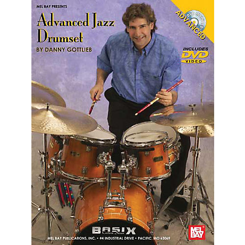 Mel Bay Advanced Jazz Drumset DVD and Chart