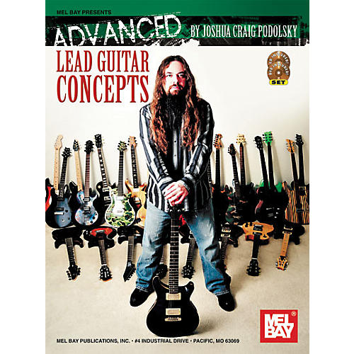 Mel Bay Advanced Lead Guitar Concepts Book/CD/DVD