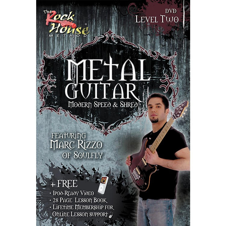 Rock HouseAdvanced Metal Guitar DVD/Book