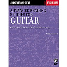 Hal Leonard Advanced Reading Studies for Guitar Book