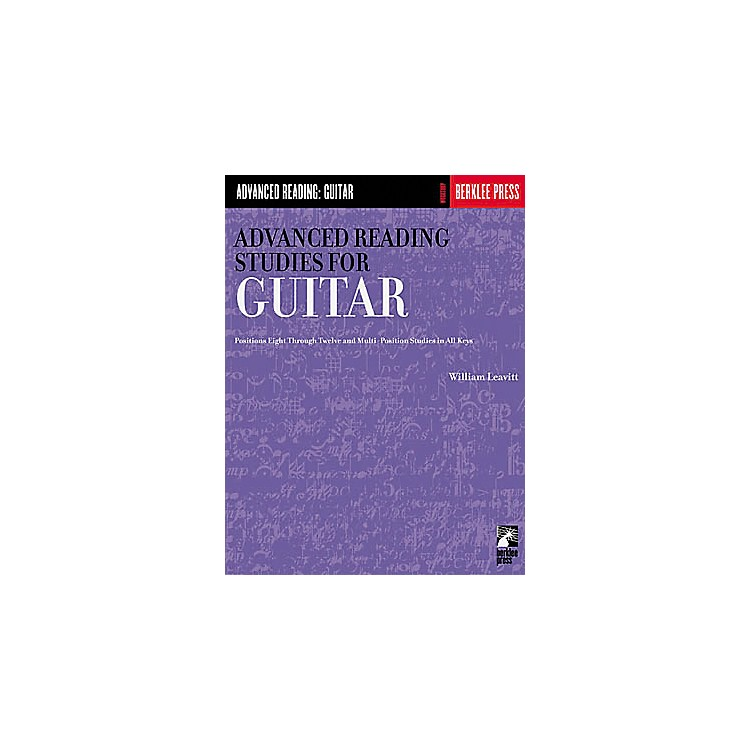 Hal Leonard Advanced Reading Studies for Guitar Book