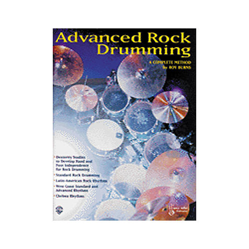 Alfred Advanced Rock Drumming Book-thumbnail