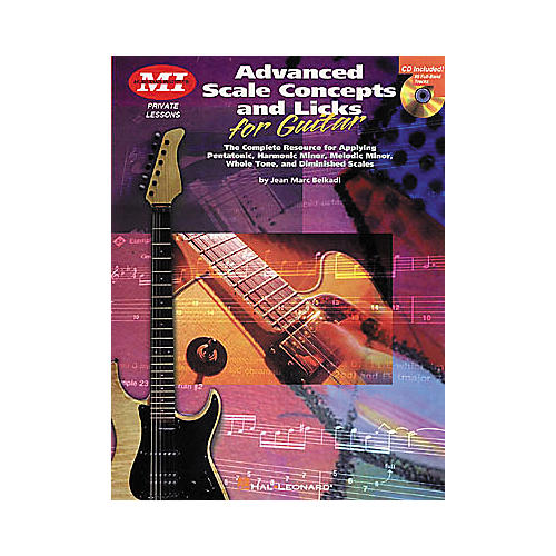 Musicians Institute Advanced Scale Concepts and Licks for Guitar (Book/CD)