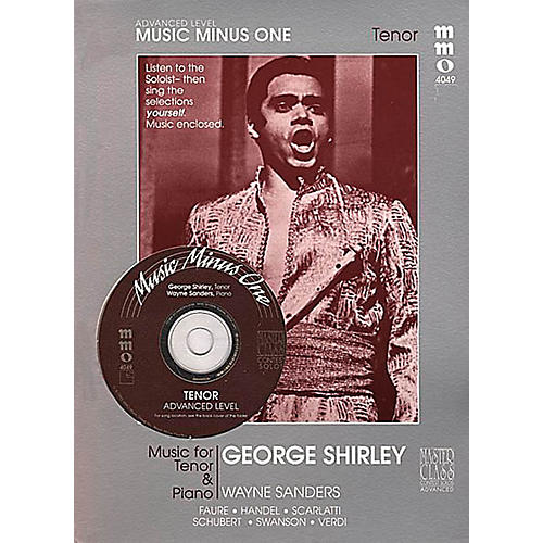 Music Minus One Advanced Tenor Solos Music Minus One Series Softcover with CD
