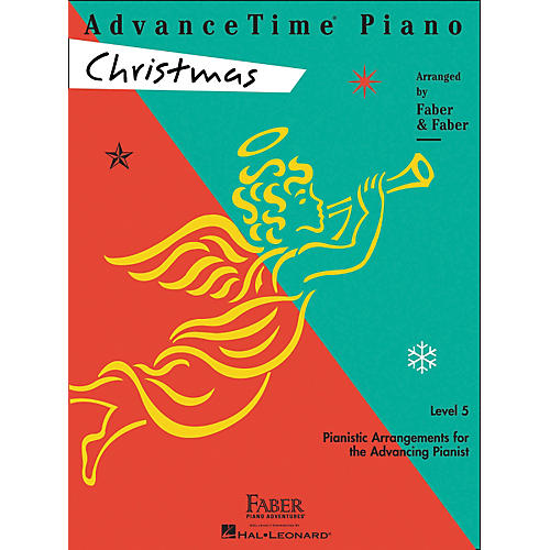 Faber Piano Adventures Advancetime Piano Christmas Level 5 - Faber Piano