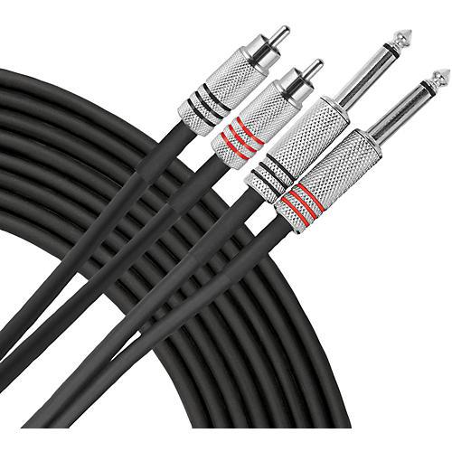 Livewire Advantage Interconnect Dual Cable RCA Male to 1/4