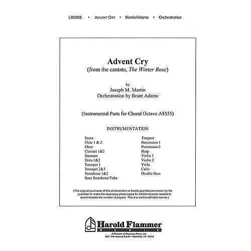 Shawnee Press Advent Cry (from The Winter Rose) Score & Parts composed by Joseph M. Martin-thumbnail