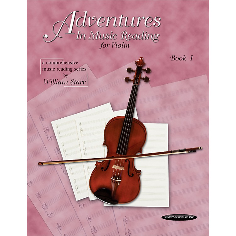 AlfredAdventures in Music Reading for Violin Book I