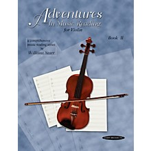 Alfred Adventures in Music Reading for Violin Book II