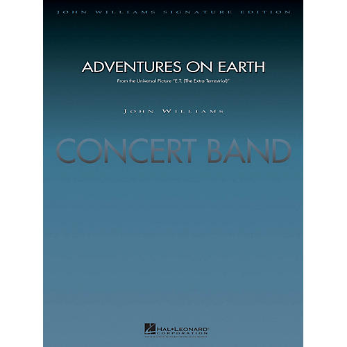 Hal Leonard Adventures on Earth (from E.T. The Extra-Terrestrial) Concert Band Level 5 Arranged by Paul Lavender-thumbnail
