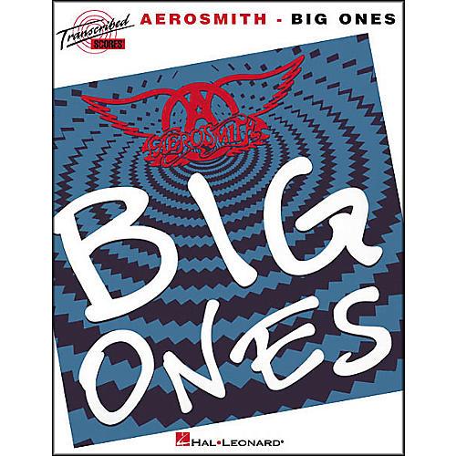 Hal Leonard Aerosmith - Big Ones Book-thumbnail