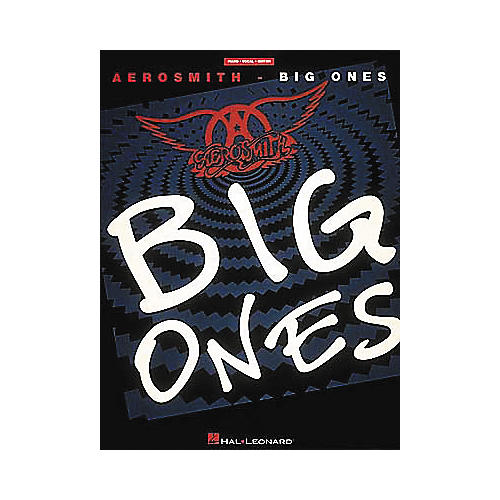 Hal Leonard Aerosmith - Big Ones Piano, Vocal, Guitar Songbook-thumbnail