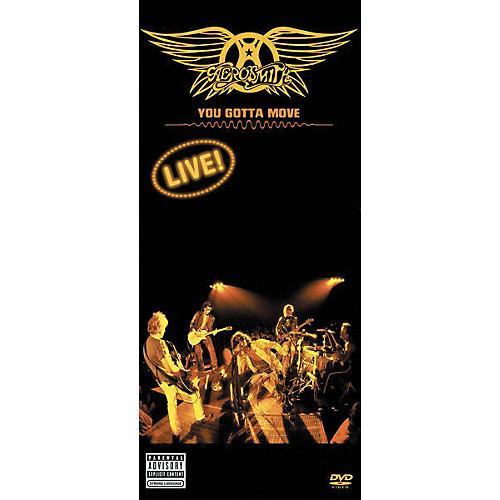 Music CD Aerosmith - You Gotta Move Live (DVD)