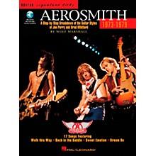 Hal Leonard Aerosmith 1973-1979 Guitar Signature Licks Book with CD