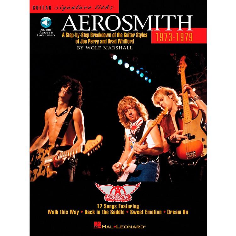 Hal LeonardAerosmith 1973-1979 Guitar Signature Licks Book with CD