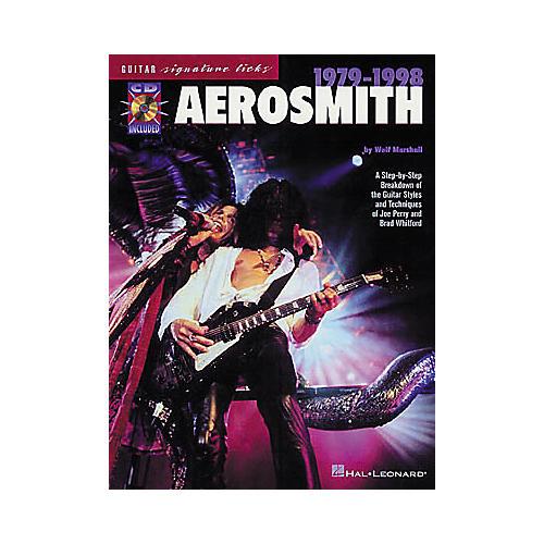 Hal Leonard Aerosmith 1979-1998 Signature Licks Book/CD