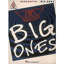 Hal Leonard Aerosmith Big Ones Guitar Tab Songbook