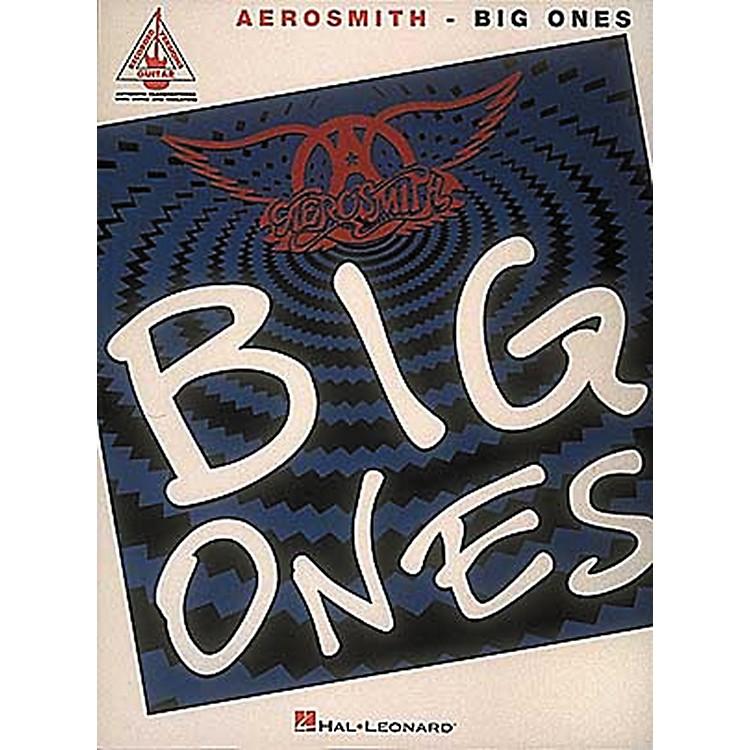 Hal LeonardAerosmith Big Ones Guitar Tab Songbook