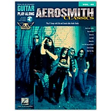 Hal Leonard Aerosmith Classics - Guitar Play-Along Volume 48 (Book/Online Audio)