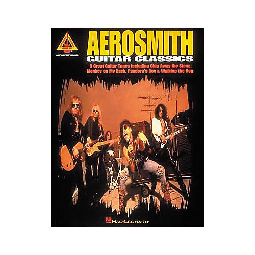 Hal Leonard Aerosmith Guitar Classics Book