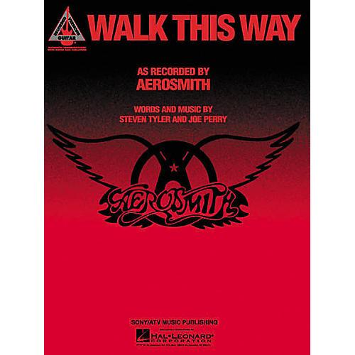 Hal Leonard Aerosmith: Walk This Way Guitar (Sheet Music)