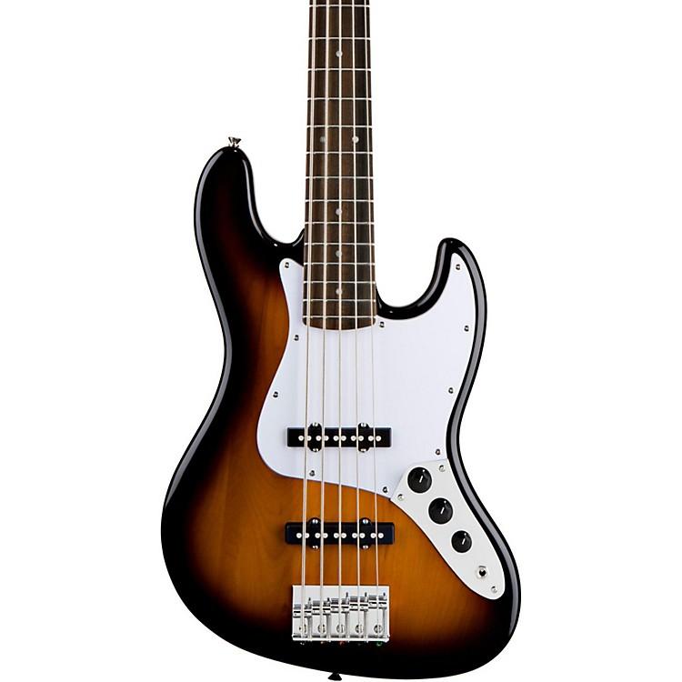 SquierAffinity 5-String Jazz Bass VBrown Sunburst