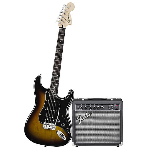 Squier Affinity HSS Stratocaster Electric Guitar Pack w/ 15G Amplifier