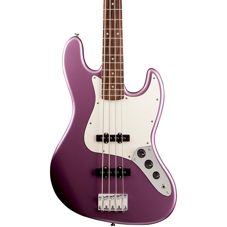Squier Affinity Jazz Bass Electric Bass with Rosewood Fingerboard Burgundy Mist Metallic Rosewood Fingerboard
