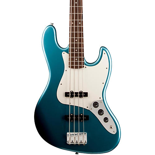 Squier Affinity Jazz Bass Electric Bass with Rosewood Fingerboard Lake Placid Blue Rosewood Fingerboard
