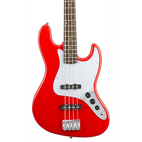 Squier Affinity Jazz Bass, Rosewood Fingerboard Race Red
