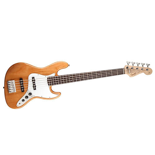 Squier Affinity Jazz Bass V 5-String Electric Bass Guitar-thumbnail